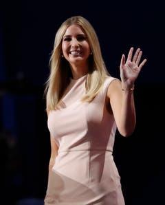 Ivanka Trump war beim Wahlkampf ihres Vaters an vorderster Front dabei. (Bild: Keystone)