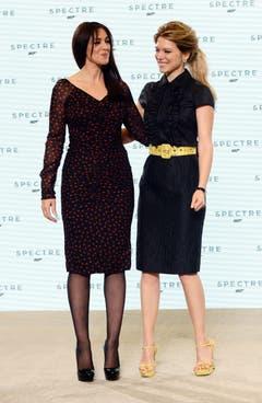 Bellucci heisst im Film Lucia Sciarra, Seydoux verkörpert die Rolle der Madeleine Swann. (Bild: Keystone)