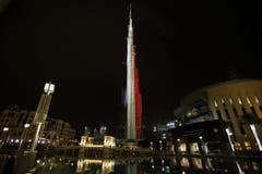 … der Burj Khalifain Dubai, … (Bild: EPA / ALI HAIDER)