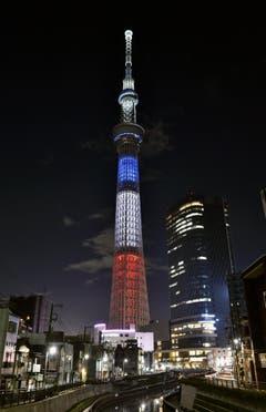 Der Tokyo Skytree. (Bild: AP)