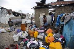 Les Cayes, Haiti (Bild: Keystone)