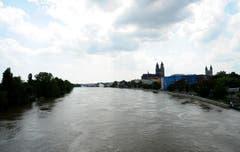 Blick auf die Elbe und den Magdeburger Dom. (Bild: Keystone)