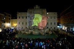 … der Trevi-Brunnen in Rom, … (Bild: AP Photo / Andrew Medichini)