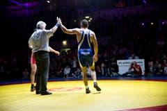 Der NLA-Final im Ringen fand in Willisau statt. (Bild: NeueLZ / Manuela Jans- Koch)