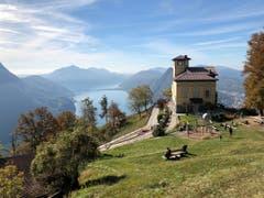 Ausblick vom Monte Bre (Bild: Angi Etterli)