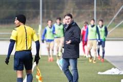 Seit 2014 ist Seoane Trainer der U 21. Nun übernimmt er die 1. Mannschaft. (Bild: Manuela Jans- Koch)