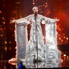 Nina Kraljic aus Kroatien performt ihren Song «Lighthouse». (Bild: MAJA SUSLIN)