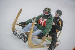 Jan Pecnik und Matej Bartosik aus der Slowaki (Bild: André A. Niederberger / Neue NZ)