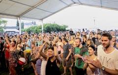 Diese Musik kommt beim Publikum an. (Bild: André A. Niederberger / Neue NZ)