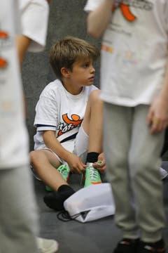 «Fit4future» will durch Sport die Bewegung von Schülern fördern und informiert mit Broschüren Lehrpersonen und Eltern über gesunde Ernährung. (Bild: Stefan Kaiser / Neue ZZ)