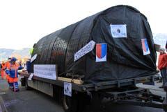 Rassig: Die Älplergesellschaft beginnt bereits mit dem Bau der zweiten Röhre am Gotthard. (Bild: Andrea Waser / Neue NZ)