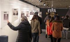 Das eigentliche Fifa-Museum soll im ersten Quartal dieses Jahres eröffnet werden. (Bild: Keystone / Patrick B. Krämer)