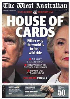 "Die australische Zeitung ""The West Australian"". (Bild: Printscreen)"