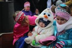 Die Kinderfasnacht in Sachseln. (Bild: Marion Wannemacher)