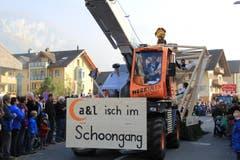 Die A&L Holzbau GmbH … (Bild: Andrea Waser / Neue NZ)