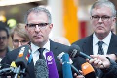 «Das war mit Abstand das Schlimmste der letzten 20 Jahre - seit ich in dieser Branche bin», sagte Lufthansa-Chef Carsten Spohr am Mittwoch nach dem Treffen mit den Angehörigen am Düsseldorfer Airport. (Bild: Keystone)