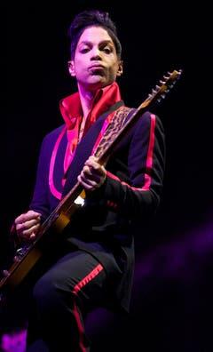 Prince bei einem Auftritt in Yas, Island 2010. (Bild: Keystone)