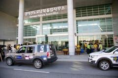 Flughafen in Südkorea. (Bild: Martin von den Driesch)