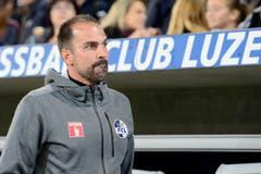 Der Trainer des FC Luzern Markus Babbel. (Bild: Keystone/ Urs Flüeler)