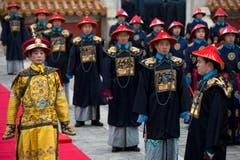 Strenge Riten prägen die Feierlichkeiten zum neuen Jahr in China. (Bild: Keystone)