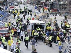 Boston Marathon Explosion (Bild: Keystone)
