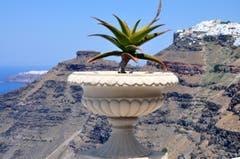 Santorini - eine der schönsten griechischen Inseln der Kykladen-Inselgruppe. (Bild: Niklaus Rohrer)
