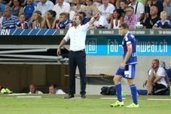 Luzerns Trainer Markus Babbel (Bild: Philipp Schmidli)