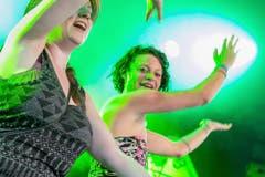 In Musik – und grünes Licght – getaucht. (Bild: André A. Niederberger / Neue NZ)