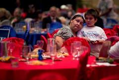 Enttäuscht: Sie unterstützte Mitt Romney. (Bild: Keystone)