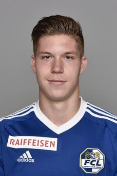 Cedric Itten 4,5: Ein sauberes FCL-Debüt; der Stürmer rackert, schiesst und legt mit etwas Glück zum 1:0 auf. (Bild: Martin Meienberger / freshfocus)