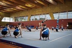 Der Turnverein Hünenberg im Einsatz. (Bild: Pius Amrein)