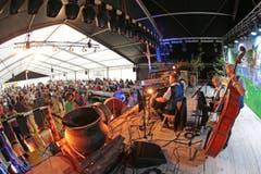 Am Opanair Klewenalp ist heute Freitag die Ländler-Chilbi das Thema. (Bild: Roger Zbinden (Neue LZ))