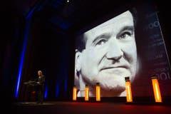 Platz 2: Robin Williams. Der US-Schauspieler und Komiker starb am 11. August 2014 63-jährig in Kalifornien. (Bild: Keystone)