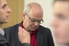 Ein enttäuschter Andy Tschümperlin. (Bild: Keystone)