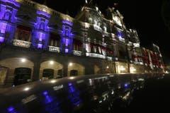 Das Stadthaus von Puebla, Mexico. (Bild: EPA/FRANCISCO GUASCO)