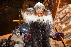 Tschaeggaettae carnival in Switzerland (Bild: Keystone / Dominic Steinmann)
