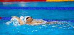 Berühmtester Abwesender in den Reihen der brasilianischen Gastgeber ist César Cielo. Der sechsmalige Weltmeister und Olympiasieger 2008 über 50 m Crawl scheiterte in der nationalen Qualifikation. (Bild: EPA / Larry W. Smith)