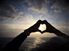 Wohin du auch gehst, gehe mit deinem ganzen Herzen ! Zitat stammt von Konfuzius. Aufgenommen auf der Costa Fascinosa. (Bild: Margrith Imhof-Röthlin)