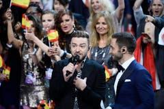 Justin Timberlake war auch zugegen. (Bild: MAJA SUSLIN)
