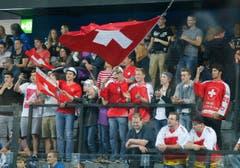 Die Schweizer Mannschaft verliert das Gruppenspiel gegen Kanada 2:7. (Bild: Stefan Kaiser (Neue ZZ))