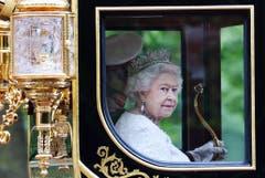 Königin Elisabeth feierte 2013 ihr 60-Jahr-Jubiläum der Krönung. Jetzt wird die Monarchin 90 Jahre alt. (Bild: Keystone)