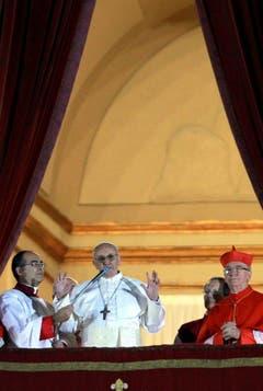 Franziskus ist der erste Papst aus dem Kontinent Amerika und ausserhalb Europas. (Bild: Keystone)