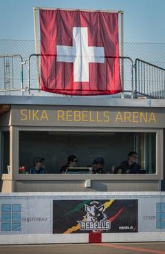 Die im Herbst 2017 eingeweihte Arena hat ihren ersten Höhepunkt erlebt. (Bild: Christian Herbert Hildebrand, Zuger Zeitung)