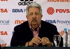 Verhaftet: Rafael Esquivel (Venezuela), Präsident des venezolanischen Fussball-Verbandes. (Bild: EPA / Miguel Gutierrez)