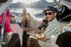 Sommerfeeling on Board.. (Bild: André A. Niederberger / Neue NZ)