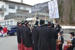Schnitzelbank in Muotathal. (Bild: Bote der Urschweiz)