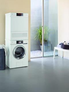 Waschmaschine und Tumbler der heutigen Generation. (Bild: PD)