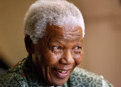 Nelson Mandela im Jahr 2008 in Johannesburg. (Bild: Keystone)