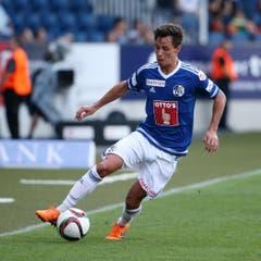 Clemens Fandrich, Note 3,5 Der Neuling aus der 2. Bundesliga benötigte eine ziemlich lange Angewöhnungszeit. Im Cup in St. Gallen und Aarau gelangen ihm die besten Spiele.16 Spiele, 10-mal in Startelf, 866 Minuten. 0 Tore/0 Assists. (Bild: Philipp Schmidli)