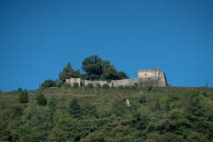 ... sowie das Castello di Morcote (Bild: Pablo Gianinazzi / Keystone)